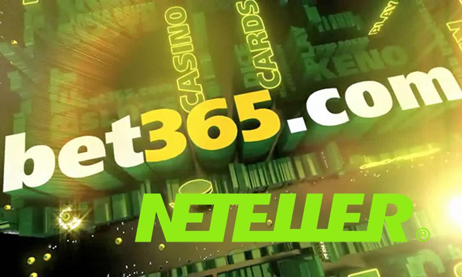 ¿Cómo depositar en Bet365 con Neteller?