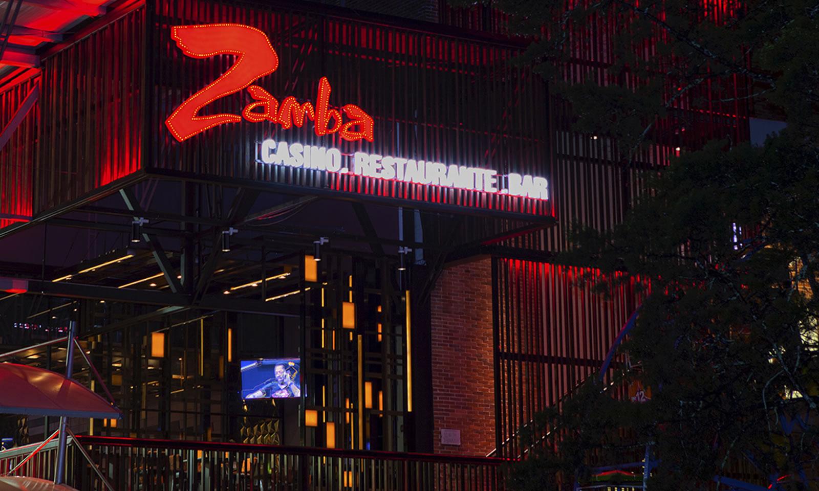 Zamba locales físicos