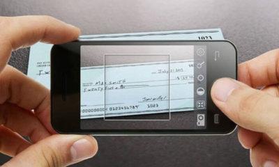 ¿Cómo depositar un cheque?