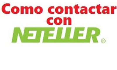 ¿Cómo contactar con Neteller?
