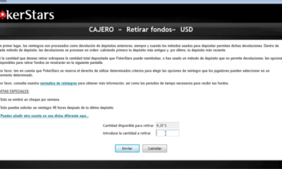Cómo retirar dinero de Pokerstars en Colombia?